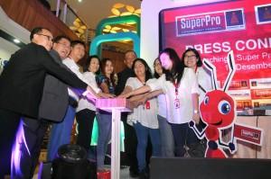 - Jajaran managar Paramount Land, Kamis (10/12) meresmikan kehadiran Supermarket Properti (SuperPro) di Kota Semarang.