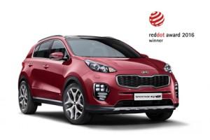 -All New Kia Sportage mendapatkan penghargaan prestisius Red Dot International Design untuk kedua kalinya